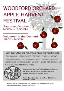 2015 Woodford Orchard Apple Harvest Festival!